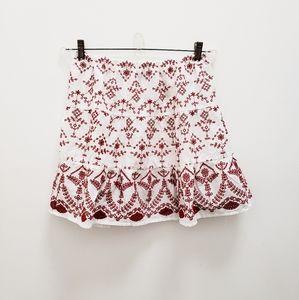 ASOS Embroidered Skirt